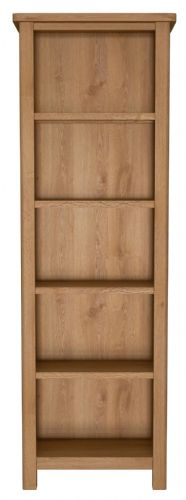 Richmond Rustic Oak Large Bookcase